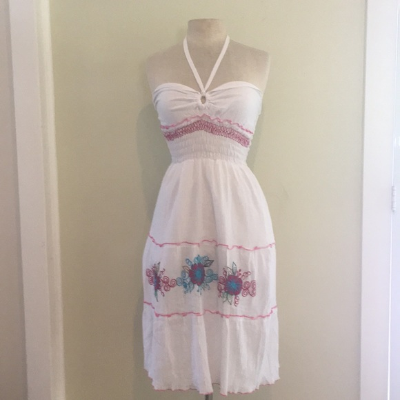 Dresses & Skirts - Embroidered Dress from Guatemala // OS